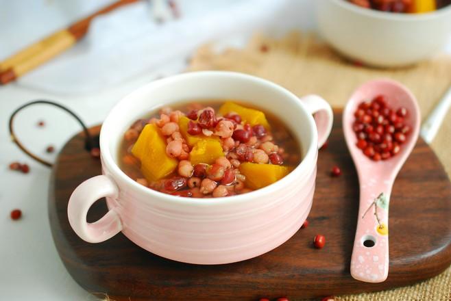 南瓜薏米红豆汤怎么煮