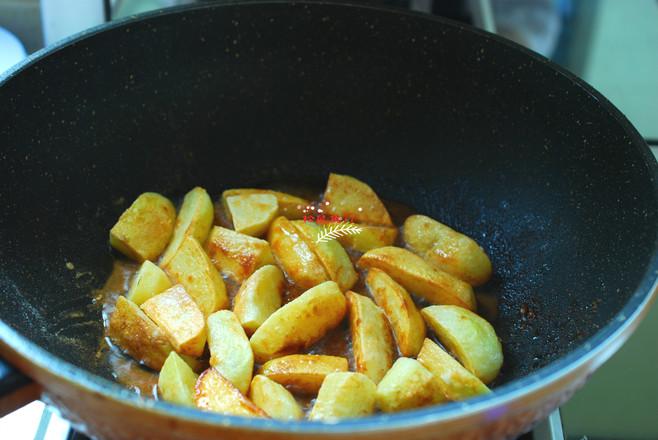 茄子焖土豆的简单做法