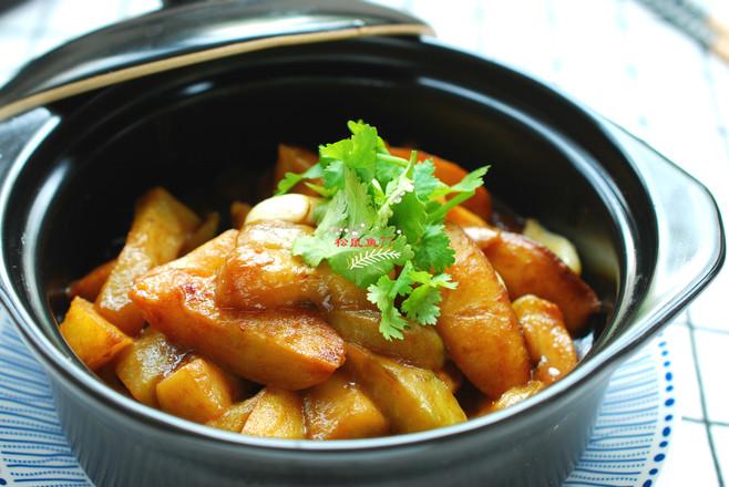 茄子焖土豆怎么煮