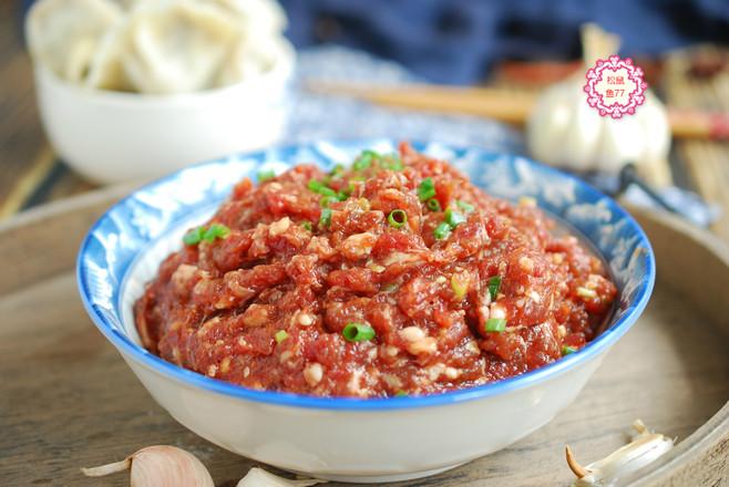 牛肉馅鲜嫩不柴的做法怎么炒