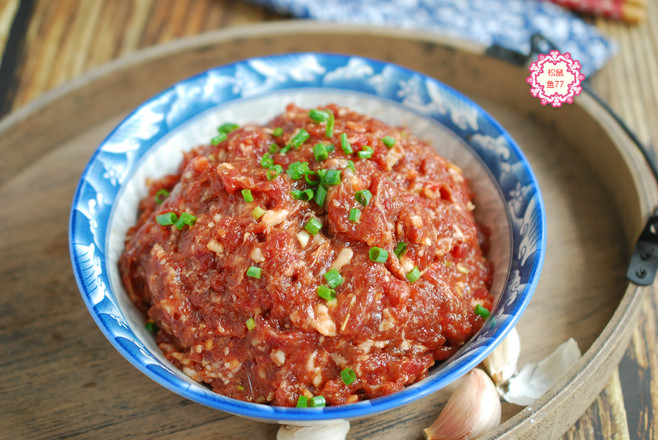 牛肉馅鲜嫩不柴的做法怎么煮