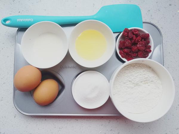 蔓越莓小蛋糕的做法大全