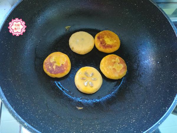 红薯蜜豆饼怎么炒