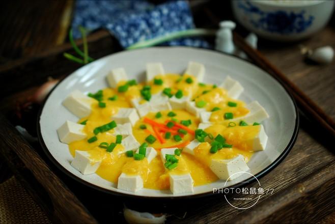 蟹黄豆腐怎么煮