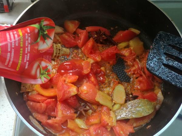 番茄牛肉汤怎么做
