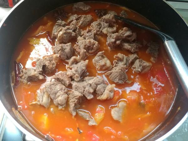 番茄牛肉汤怎么炒
