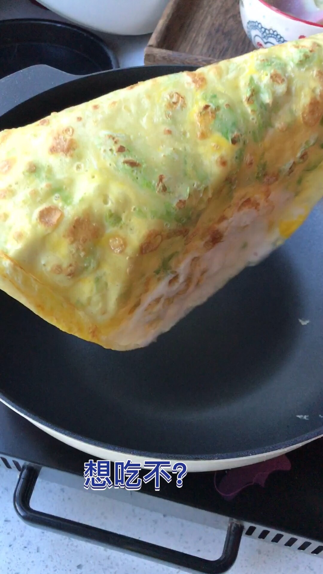 早餐鸡蛋软饼怎么煸