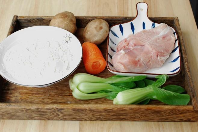 #冬至大如年#薄皮大馅儿,一咬满口香的香菇鸡肉饺子的做法大全