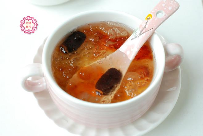 经常喝一碗美容养颜羹,皮肤白气色好,做法很简单的步骤