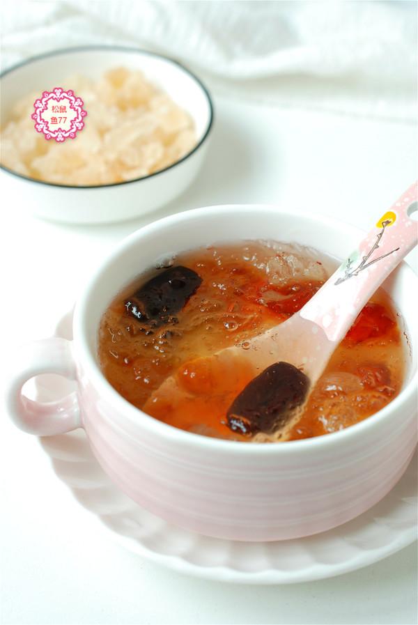 经常喝一碗美容养颜羹,皮肤白气色好,做法很简单成品图