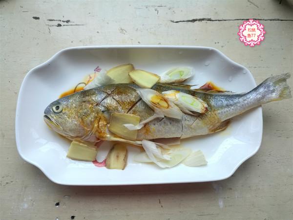 黄花鱼这做法,不粘皮不粘锅,香嫩入味好吃不怕胖的做法图解