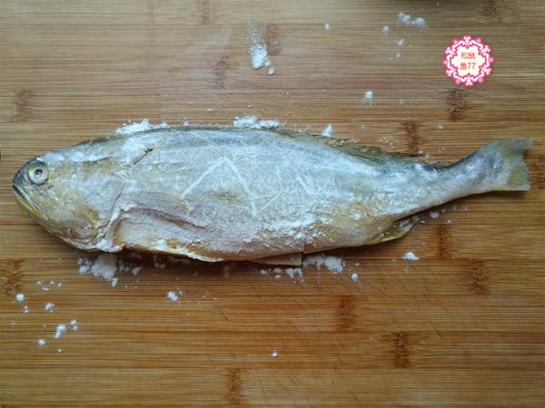 黄花鱼这做法,不粘皮不粘锅,香嫩入味好吃不怕胖的简单做法