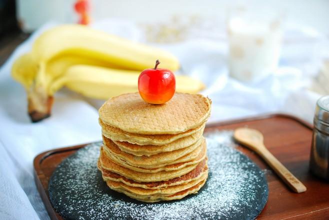 孩子最爱吃的香蕉松饼,香甜松软,做法超简单怎么炖