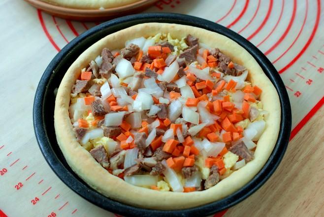 自己做披萨,简单省事儿,香软拉丝怎么煮