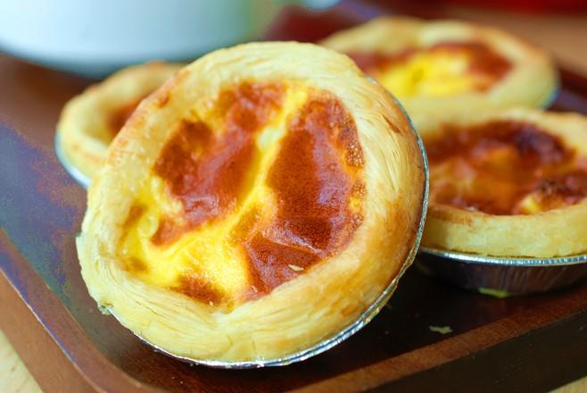 不用淡奶油,不用烤箱做蛋挞,简单方便又好吃成品图