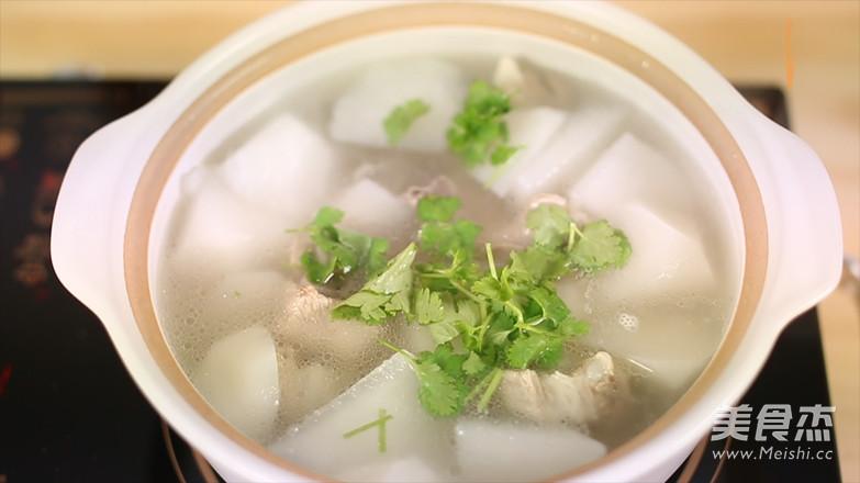 白萝卜排骨汤怎样炒