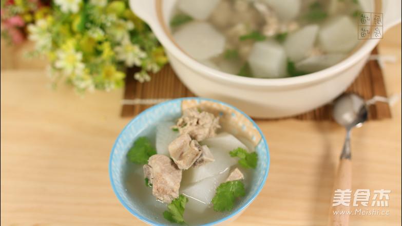 白萝卜排骨汤怎样煮