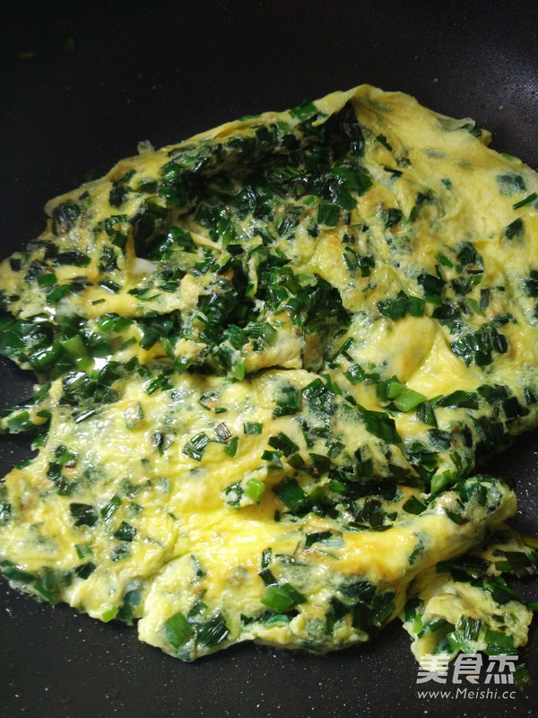 韭菜煎蛋怎么做