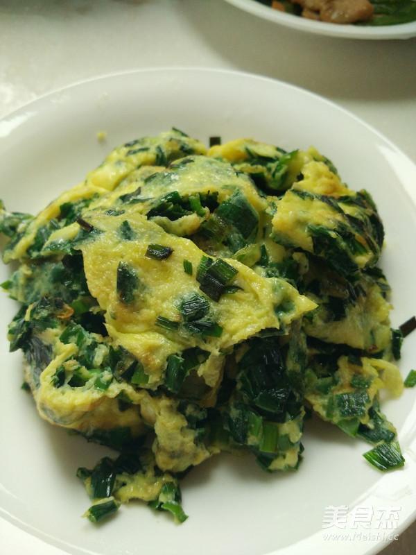 韭菜煎蛋怎么炒