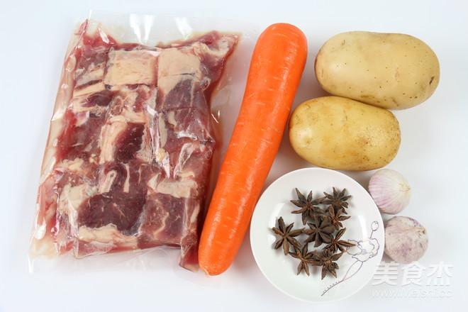 土豆萝卜焖牛腩的做法大全