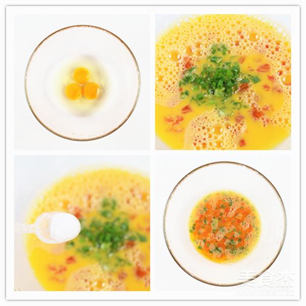 番茄金蛋烧的简单做法