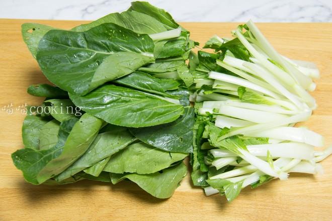 蒜香小白菜的简单做法