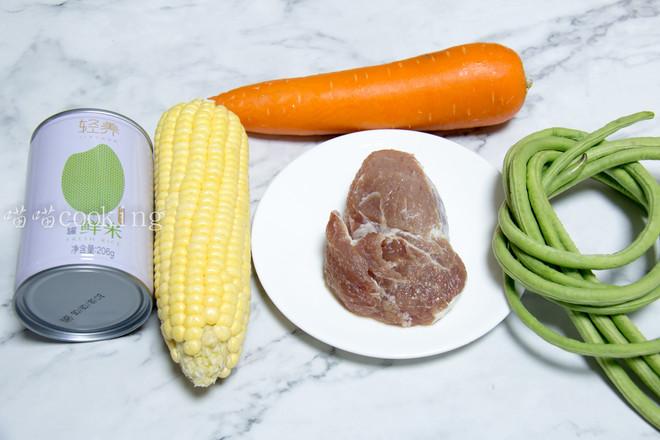 玉米豆角肉末炒饭的做法大全
