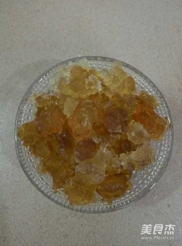 桃胶皂角米糖水的做法图解
