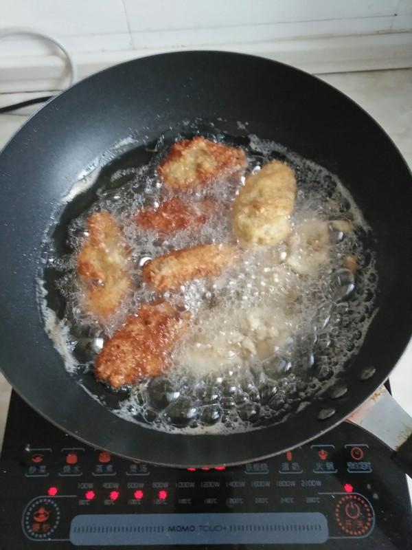 香炸鸡翅中怎么吃