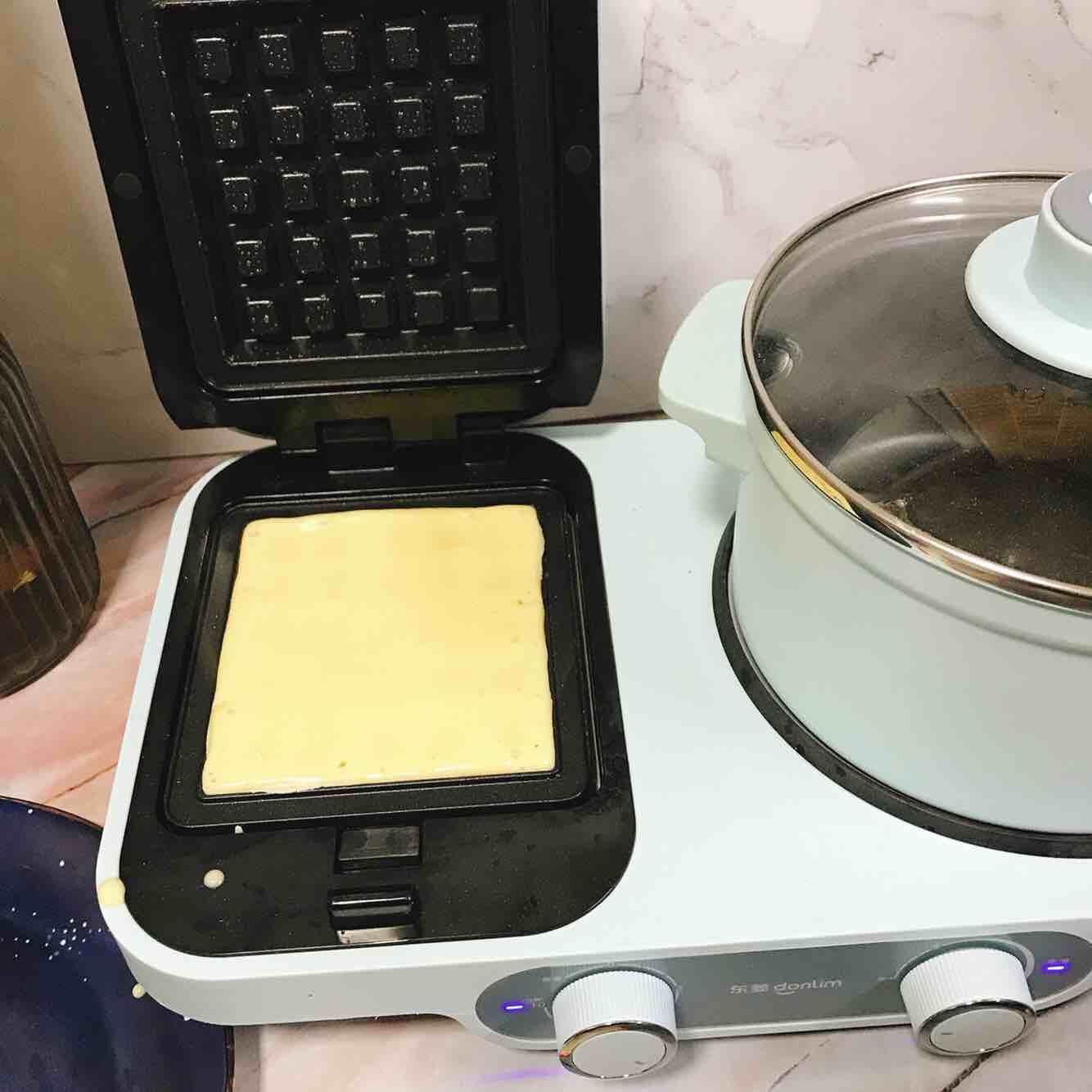 椰香华夫饼的做法图解