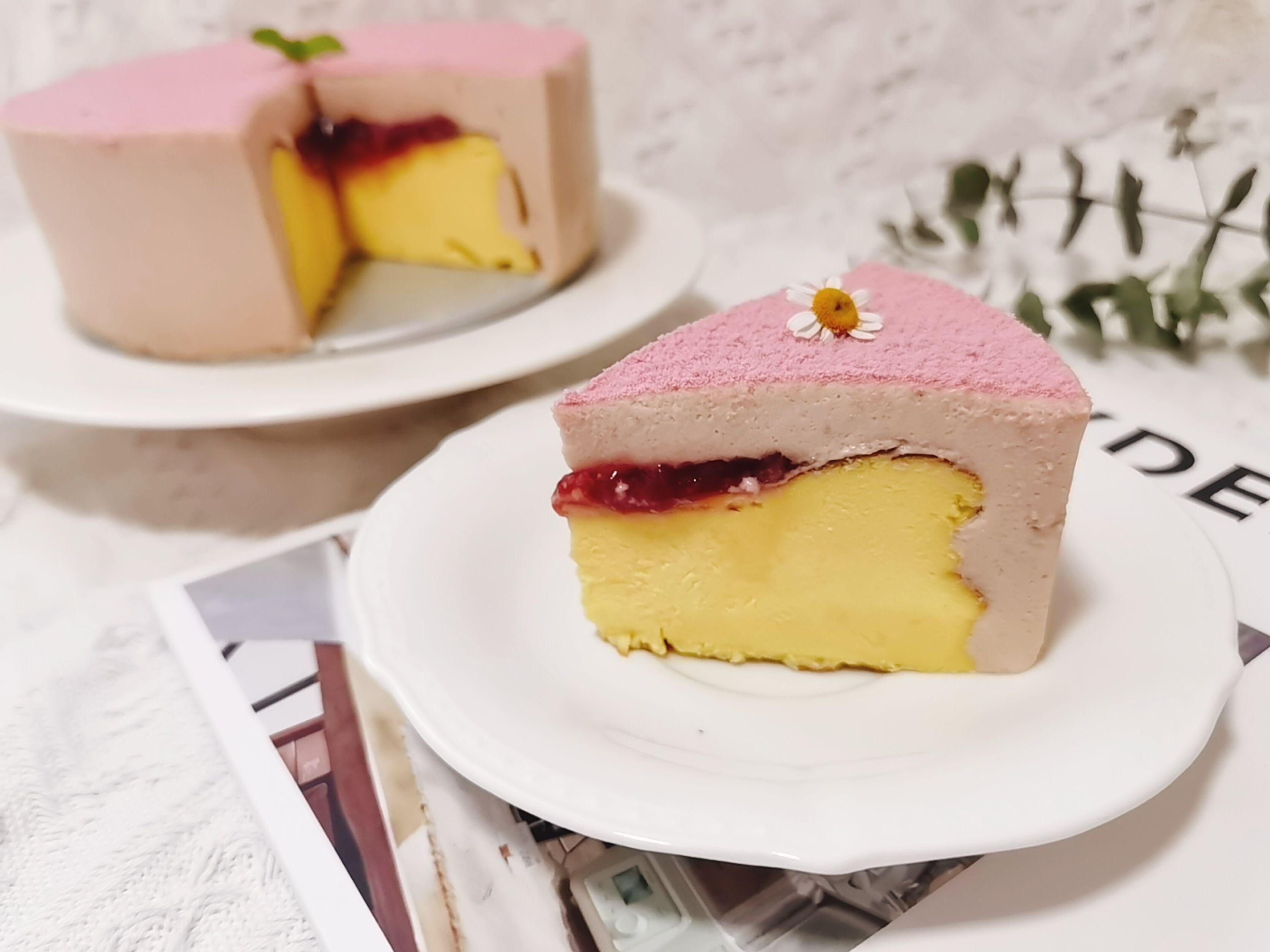 粉红色的回忆——草莓慕斯巴斯克怎么炖