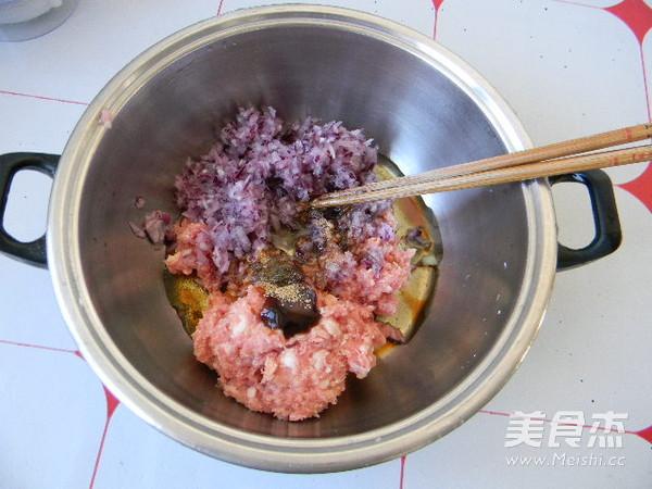 胡萝卜猪肉馅包子的做法图解