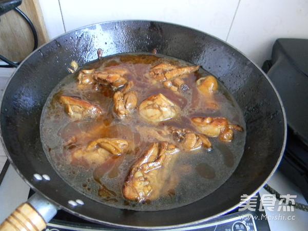 红焖鸡腿怎么炒