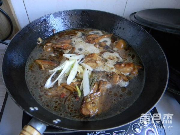 红焖鸡腿怎么煮