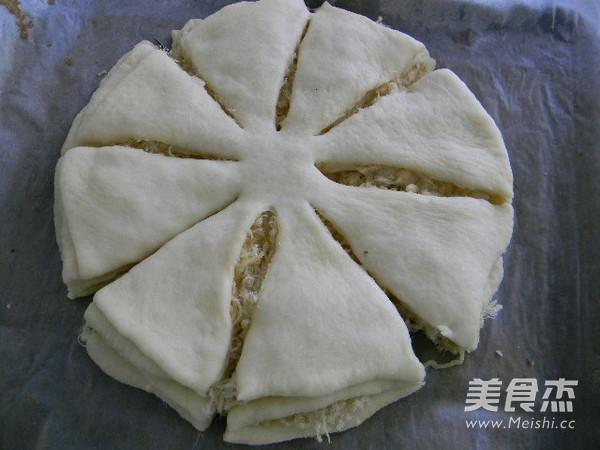 肉松太阳花面包怎么煮