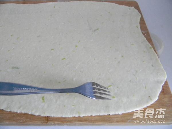香酥葱油饼干的制作方法