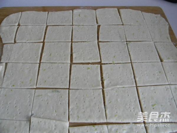 香酥葱油饼干的制作大全