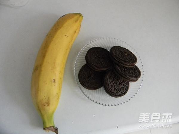 香蕉饼干吐司夹的做法大全