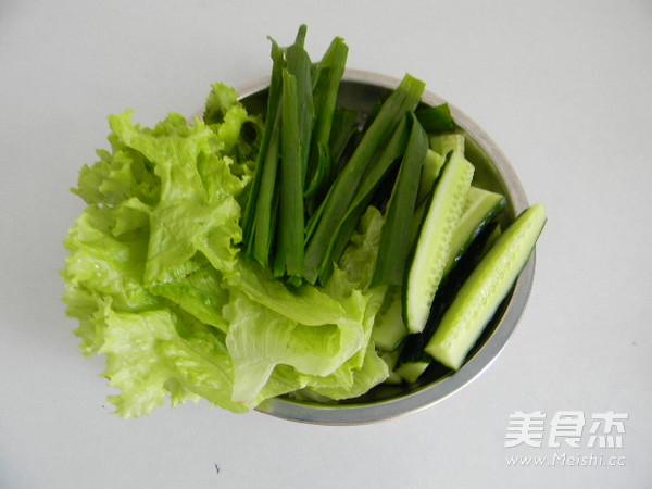 老北京鸡肉卷的制作方法
