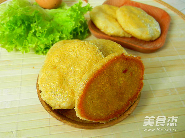 东北玉米面饼成品图
