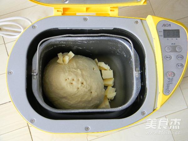 淡奶油土司的简单做法