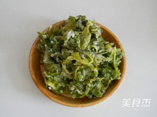 蒜香蒸芹菜叶怎么炒