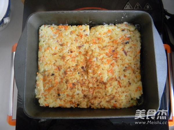 蛋煎米饭怎么做
