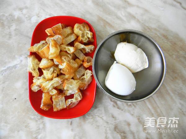 咸鸭蛋粢饭团的简单做法
