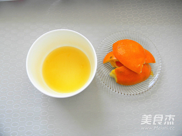 香橙老面包的家常做法