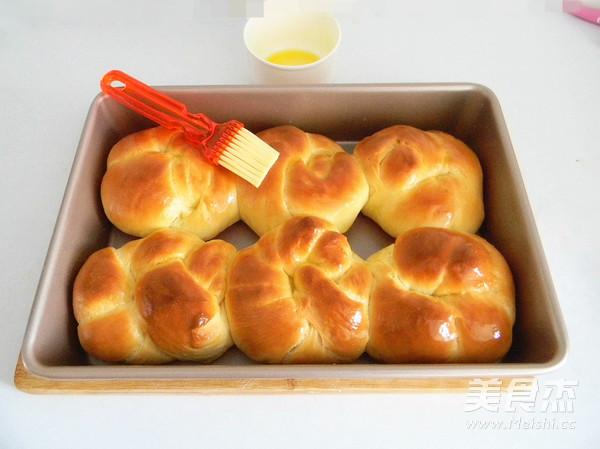 香橙老面包的制作