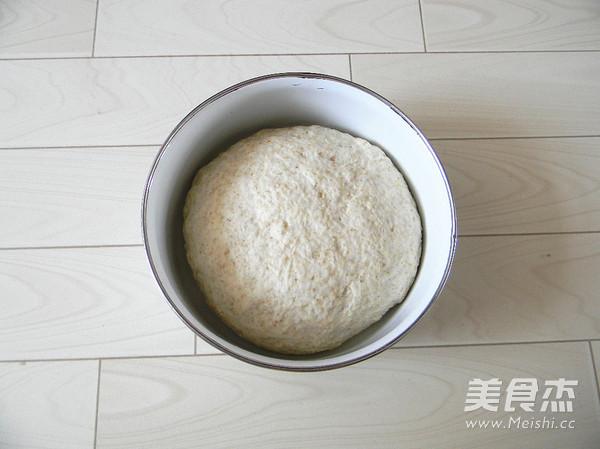 全麦奶香面包的简单做法
