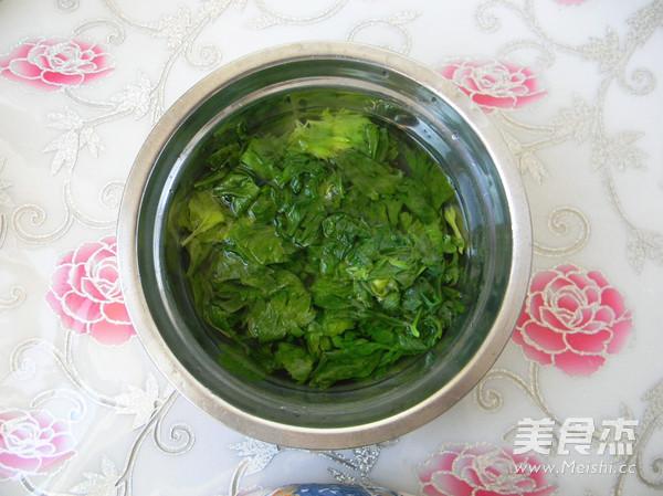 杂面芹菜叶饼的家常做法