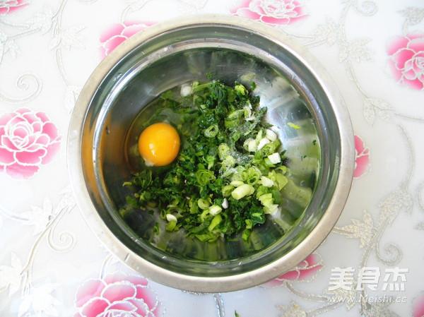 杂面芹菜叶饼怎么吃