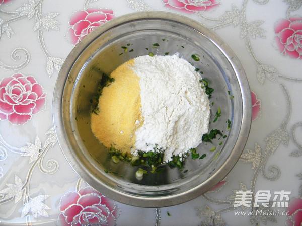 杂面芹菜叶饼怎么做